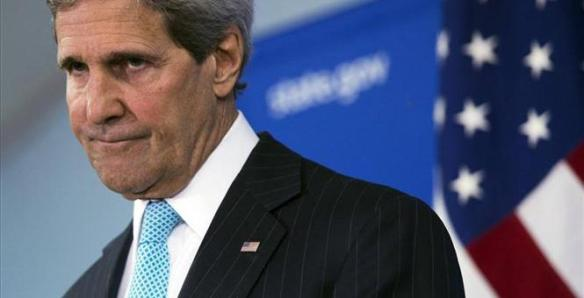 KERRY RAILS AT BOKO BOYS....WHAT! NO HEALTH CARE OFFERED?
